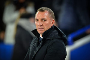 Leceister City manager Brendan Rodgers