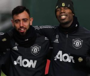 Fernandes believes he could feature alongside Pogba in the same United aide